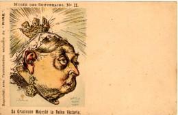 Musee Des Souverains N° II- Sa Gracieuse Majesté La Reine Victoria - Le ´Rire´ - Satirische