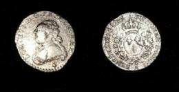 A saisir  ! 1783 TTB et RARE 1/20 vingti�me d'�cu en argent Louis XVI au buste fort seulement 52880 exemplaires