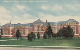 Jefferson High School Portland Oregon