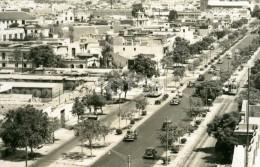 REAL PHOTO POSTCARD AVENIDA BRASIL LIMA PERU SOUTH AMERICA  POSTAL CARTE POSTALE AMERICAN CARS