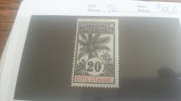 LOT 218886 TIMBRE DE COLONIE COTE IVOIRE NEUF* N�26 VALEUR 11,6 EUROS