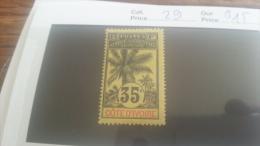 LOT 218889 TIMBRE DE COLONIE COTE IVOIRE NEUF* N�29 VALEUR 15 EUROS