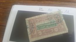 LOT 218916 TIMBRE DE COLONIE SOMALIS OBLITERE N�10 VALEUR 11 EUROS