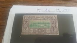 LOT 218917 TIMBRE DE COLONIE SOMALIS NEUF* N�11 VALEUR 25 EUROS