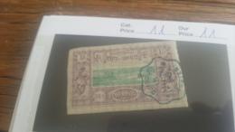 LOT 218918 TIMBRE DE COLONIE SOMALIS OBLITERE N�11 VALEUR 11 EUROS