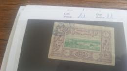 LOT 218921 TIMBRE DE COLONIE SOMALIS OBLITERE N�11 VALEUR 11 EUROS