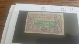 LOT 218922 TIMBRE DE COLONIE SOMALIS OBLITERE N�11 VALEUR 11 EUROS