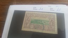 LOT 218924 TIMBRE DE COLONIE SOMALIS OBLITERE N�11 VALEUR 11 EUROS