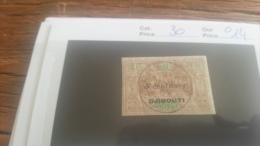 LOT 218929 TIMBRE DE COLONIE SOMALIS OBLITERE N�30 VALEUR 14 EUROS
