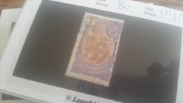 LOT 218955 TIMBRE DE COLONIE SOMALIS NEUF* N�81 VALEUR 52 EUROS