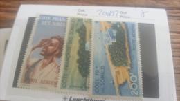 LOT 218989 TIMBRE DE COLONIE SOMALIS NEUF* N�20 A 22