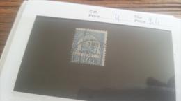 LOT 219092 TIMBRE DE COLONIE TUNISIE OBLITERE N�4 VALEUR 24 EUROS