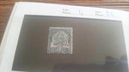 LOT 219093 TIMBRE DE COLONIE TUNISIE OBLITERE N�4 VALEUR 24 EUROS