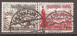 DEUTSCHES REICH - MI.NR. 651 + 656 - W131 - Zusammendrucke