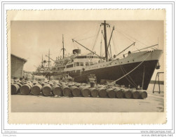Photo Marine Marchande Cargo  Sampiero Corso Au Chargement - Barche