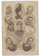 Dreyfus Zola Labori Demange Picquart Médaillon Carton 12x17,5 - Unclassified