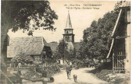 TERRITOIRE DE BELFORT 90.VAUTHIERMONT VUE DE L EGLISE ENTREE DU VILLAGE - Other Municipalities