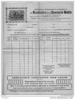 Elbeuf Seine Maritime Chemiserie Modèle Illustré Commande 1920 état Superbe - Vieux Papiers