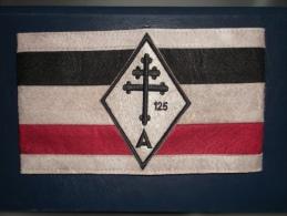 Brassard CROIX DE LORRAINE A 125 - 1939-45