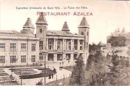 """EXPOSITION UNIVERSELLE DE GENT GANT 1910-""""LE PALAIS DES FETES: RESTAURANT AZALEA""""-EDIT.V.F BRUXELLES-NON CIRCULEE-GECKO. - Exposiciones Universales"""