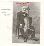 Compositore Gaetano Braga (Giulianova, Teramo 1829 - Milano 1907) - Immagine Tratta Da Una Rivista Rovinata Del 1907 - Immagine Tagliata