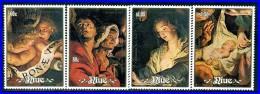 NIUE 1988 Christmas Sc#564-67/SG#675-78 MNH CV$14.00   RELIGIOUS PAINTINGS, MADONNA (3ALL) - Niue