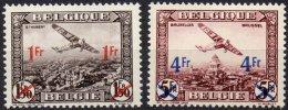 BELGIQUE - Surchargés De 1935 - Paire Neuve LUXE - Airmail