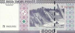 BIELORUSSIE  5000 RUBLEI 2000(2011) UNC P 29