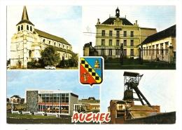 Cp, 62, Auchel, Multi-Vues, écrite - Autres Communes