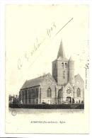 Cp, 62, Audruicq, L'Eglise, Voyagée 1905 - Audruicq