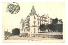 Cp, 64, Pau, Hôtel Gassion, Voyagée 1906 ? - Pau