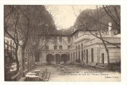 Cp, 66, Amélie-les-Bains, Annexe Et Terrasse Du Café Des Thermes Romaines, Voyagée - Andere Gemeenten