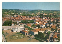 Cp, 71, Marcigny, Vue Générale Aérienne, écrite - Other Municipalities