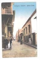 CARTAGENA COLOMBIA IGLESIA STREET Postcard By J V MOGOLLON & CIA EDITORES - Colombie