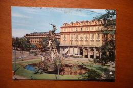 6535 TORINO - PIAZZA STATUTO - MONUMENTO COMMEMORATIVO DEL TRAFORO DEL FREJUS - Altri Monumenti, Edifici