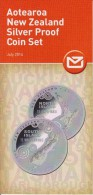 New Zealand 2014 Brochure About Aotearoa New Zealand Silver Proof Coin Set - Materiaal