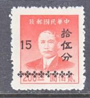 CHINA  1005   * - China