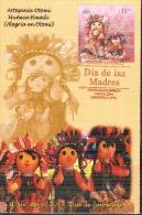 2013 México MAXIMUM CARD  MOTHER´S DAY, Dolls Representing Mothers, INDIAN CRAFTS ARTESANIA - Mexico