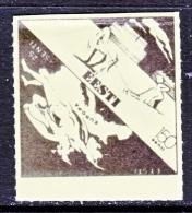 ESTONIA  ANTI-COMMUNIST  UNDERGROUND  LABEL  ** - Estonia