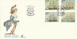 Ciskei 1985 Troop Ships FDC - Ciskei