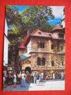 PRAGA THE OLD JEWISH CEMETERY - Judaika