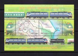 AZE-04    AZERBAIJAN 2012 BAKU-TBILISI KARS RAILWAY