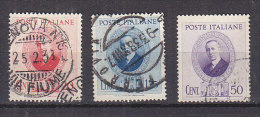 PGL - ITALIA REGNO SASSONE N°436/38 - 1900-44 Vittorio Emanuele III