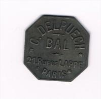 Jeton  Laiton -  BAL -  C Delpuech - Paris - Altri