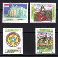 TKM-01TURKMENISTAN – 1992 SET - Turkmenistan
