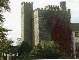 Postcard - Barberstown Castle, Kildare. A - Castles