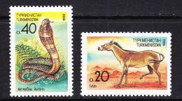 TKM-05TURKMENISTAN – 1992 ANIMALS - Turkmenistan