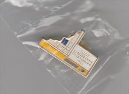 Pins ( Neuf Sous Blister) - B1456 - La Poste à La Foire Européenne De Strasbourg En 1992 - Administrations