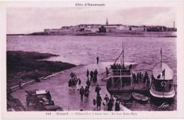 Cpa DINARD  Debarcadere  A Basse Mer - Dinard
