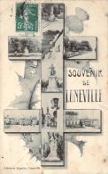 54 - Lunéville - Souvenir De Lunéville (croix De Lorraine) - Luneville